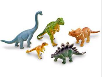 Learning Resources LER0786 Jumbo Dinosaurs Set of 5 EDRE24599
