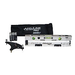 AccuLine Pro 40-6184 Three-Beam Magnetic Torpedo Laser Level With Base