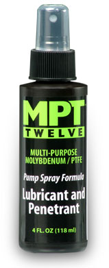 MPT MPT13 Twelve Lubricant and Penetrant  Pump Spray Fomula  4 ounce