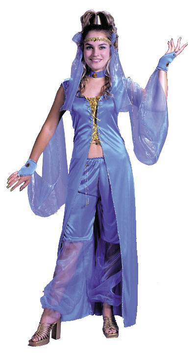 Plus Size Costumes - Costumes For All Occasions FW1181 Dreamy Genie Plus Size
