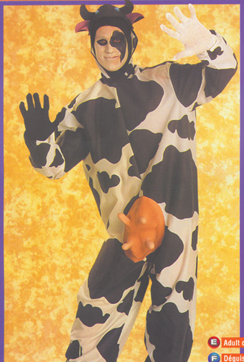 Costumes For All Occasions AA47 Comical Cow Costume MRRS639