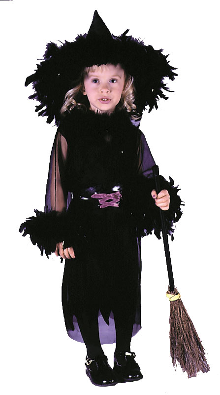 Costumes For All Occasions FW1503 Feathery Witch Toddler MRRS6478