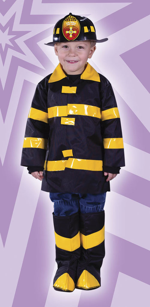 Toddler Costumes - Costumes For All Occasions FW1540 Fire Chief Toddler Large