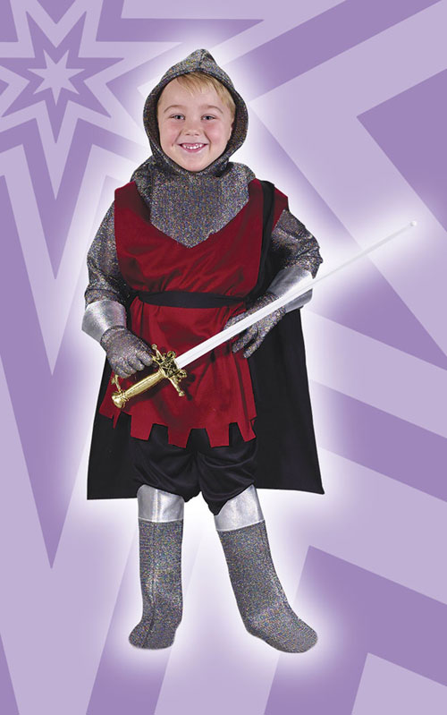Knight Costume - Costumes For All Occasions FW1546 Medieval Knight Toddler Lrg