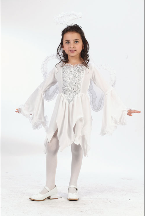Angel Costumes - Costumes For All Occasions FW1579T Angel Velour 3T To 4T