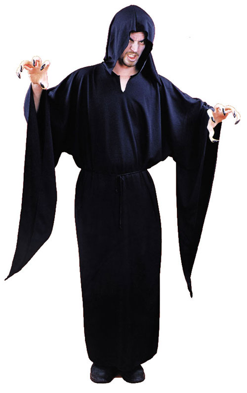 Hooded Robe - Costumes For All Occasions AA900 Horror Robe Hooded