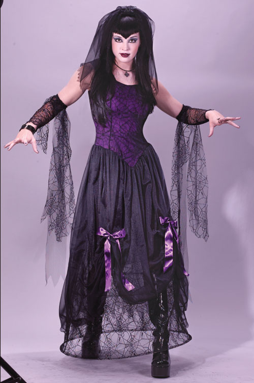 Costumes For All Occasions FW5102SD Goth Spider Princess Sm Medium