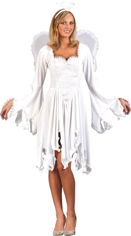 Angel Costume - Costumes For All Occasions FW5143ML Velvet Angel Med Lrg