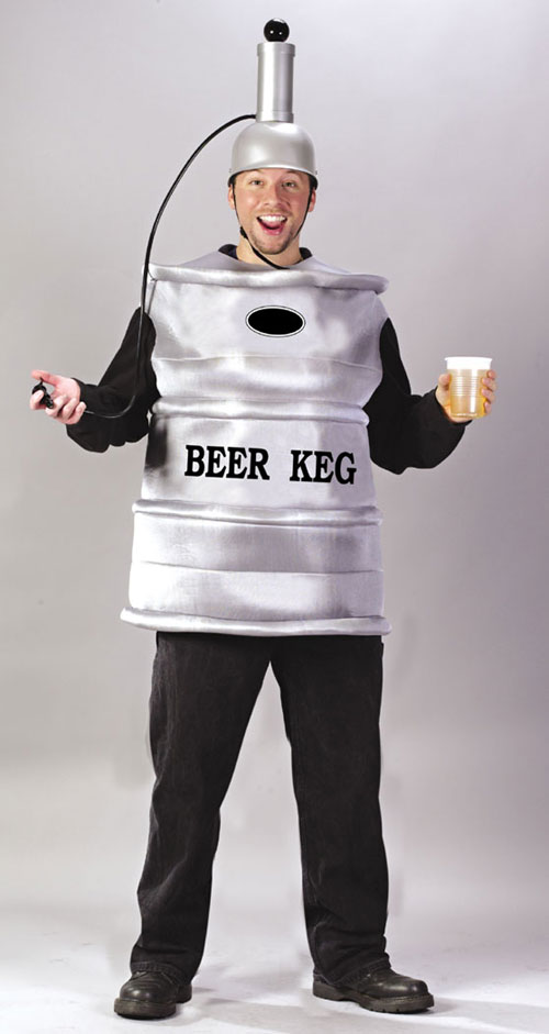Costumes For All Occasions FW5446 Beer Keg Adult