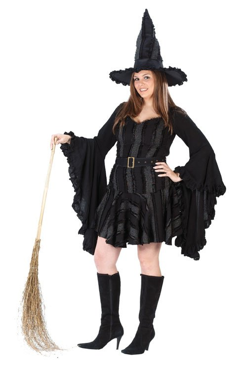 Witch Costume - Costumes For All Occasions FW5701 Witch Stitch Plus