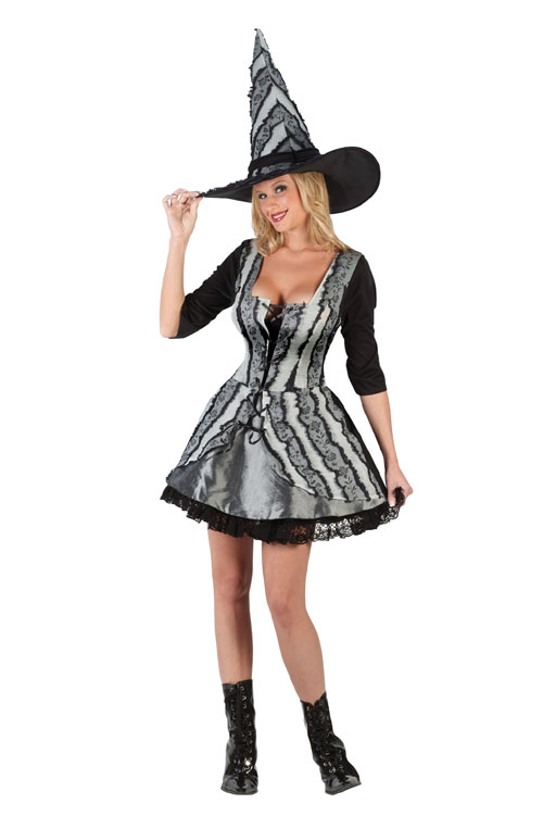 Witch Costume - Costumes For All Occasions FW5723 Witch Goth Rose XLarge