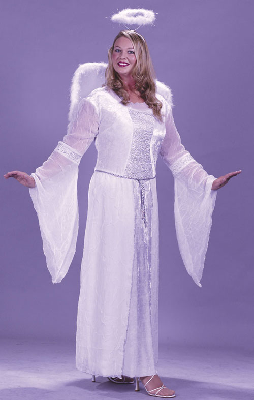 Angel Costumes - Costumes For All Occasions FW5741 Angel White Plus Size