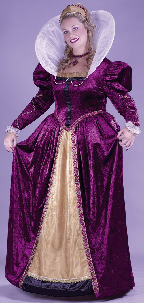 Costumes For All Occasions FW5742 Elizabethan Queen Plus Size