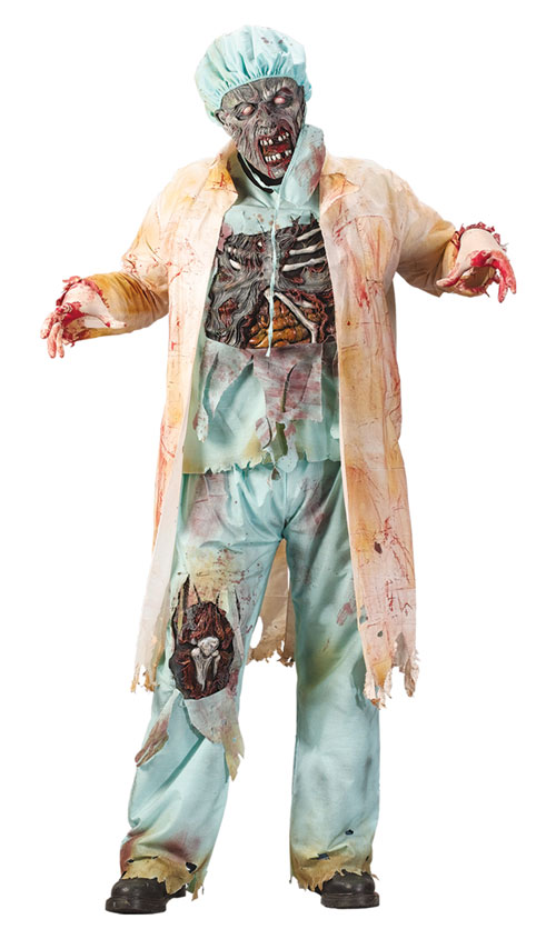 Plus Size Costume - Costumes For All Occasions FW5775 Zombie Doctor Plus Size