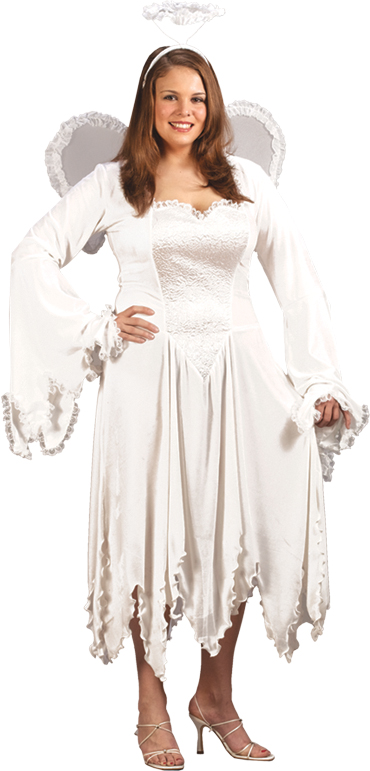 Plus Size Costumes - Costumes For All Occasions FW5793 Velvet Angel Plus Size