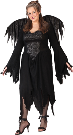 Plus Size Costume - Costumes For All Occasions FW5795 Black Rose Fairy Plus Size