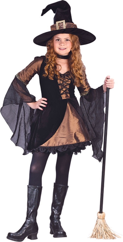 Witch Costumes - Costumes For All Occasions FW5982LG Sweetie Witch Child Large