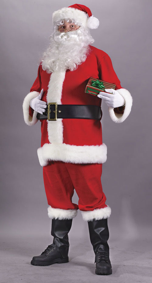 Plus Size Costumes - Costumes For All Occasions FW7510 Santa Suit Economy Plus Size