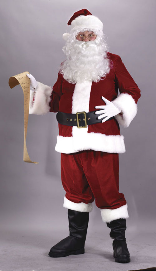 Plus Size Suits - Costumes For All Occasions FW7515 Santa Suit Ultra Plus Size
