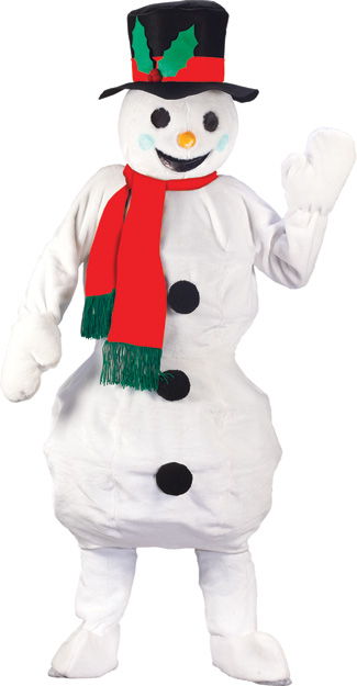 Mascot Costumes - Costumes For All Occasions FW7566 Snowman Mascot