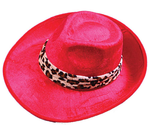 Pimp Hat - Costumes For All Occasions FW8069RD Hat Pimp Red