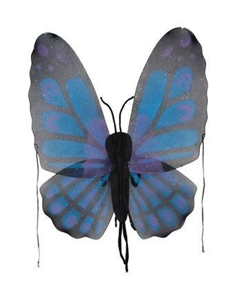 Costumes For All Occasions FW8100BBU Wings Butterfly Blue