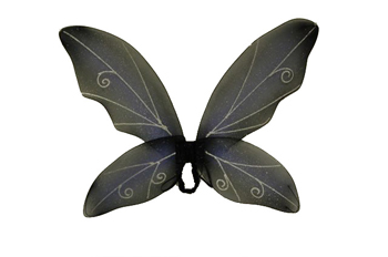 Costume Wings - Costumes For All Occasions FW8100FBU Wings Fairy Blue Black