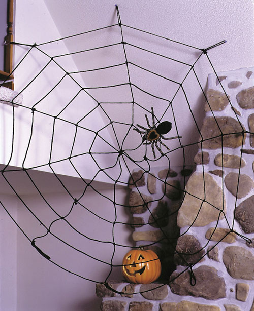 Spider Costume - Costumes For All Occasions FW8491BK Spider 9ft Rope Blk