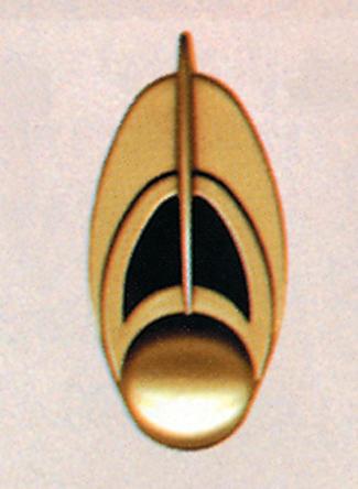 Star Trek Costumes - Costumes For All Occasions AB173 Star Trek Bajoran Comm Badge