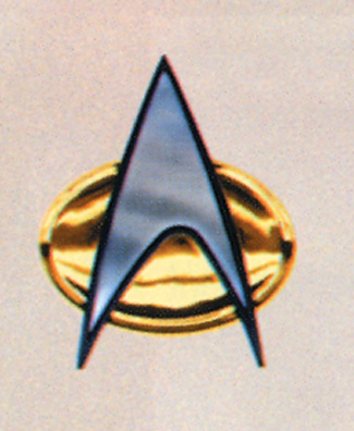 Star Trek Costumes - Costumes For All Occasions AB174 Star Trek Klingon Comm Badge