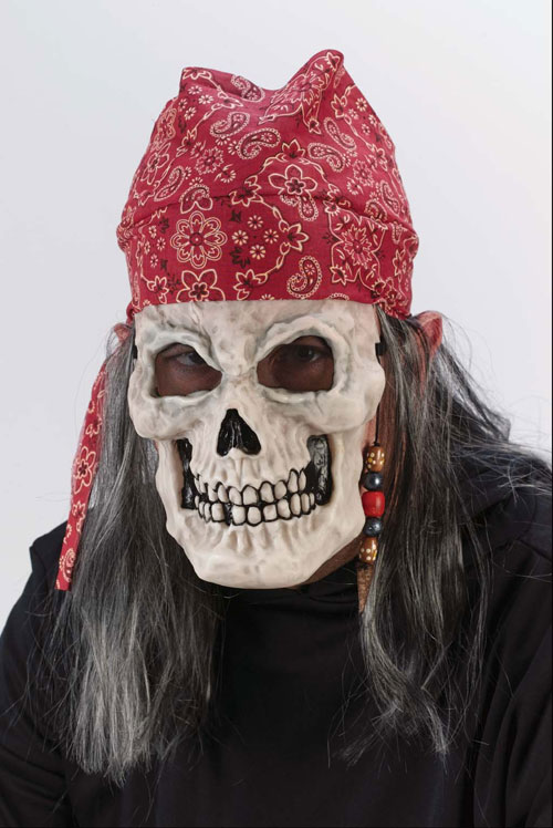 Pirate Bandanas - Costumes For All Occasions FW8558FB Pirate Mask Dead Flesh Bandana
