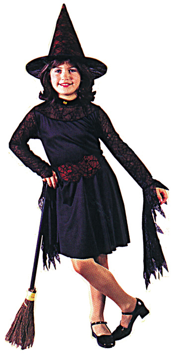 Witch Costume - Costumes For All Occasions FW8752LG Witch Of The Child Lrg