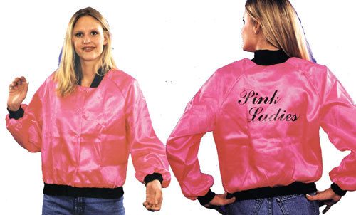 Pink Ladies Jacket - Costumes For All Occasions AC02 Jacket 50S Pink Ladies