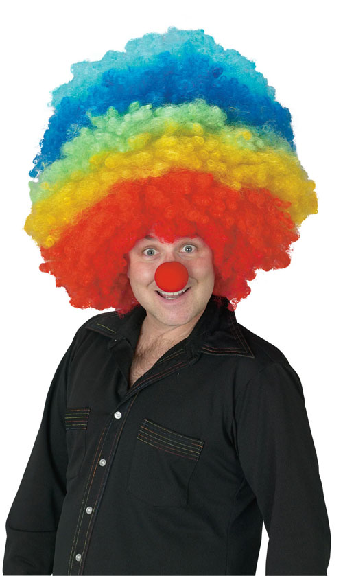 Costumes For All Occasions FW92340 Clown Mega Wig