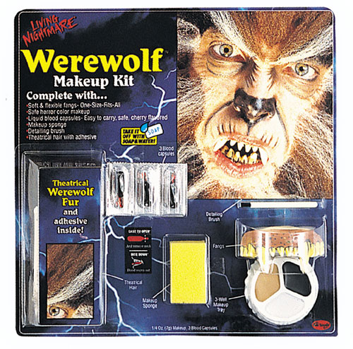 Werewolf Costumes - Costumes For All Occasions FW9421W Living Nghtmr Werewolf Kit