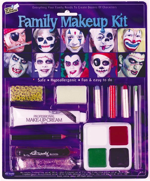 Costumes For All Occasions FW9432 Family Makeup Kit MRRS8060