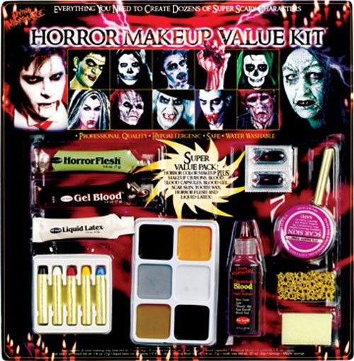 Costumes For All Occasions FW9543H Horror Family Makeup Kit MRRS8104