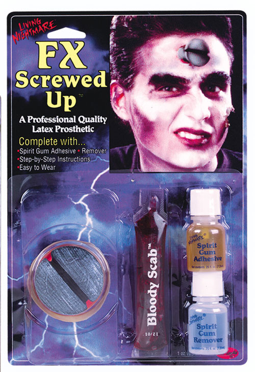 Costumes For All Occasions FW9566SC Fx Kit Screwed Up MRRS8121