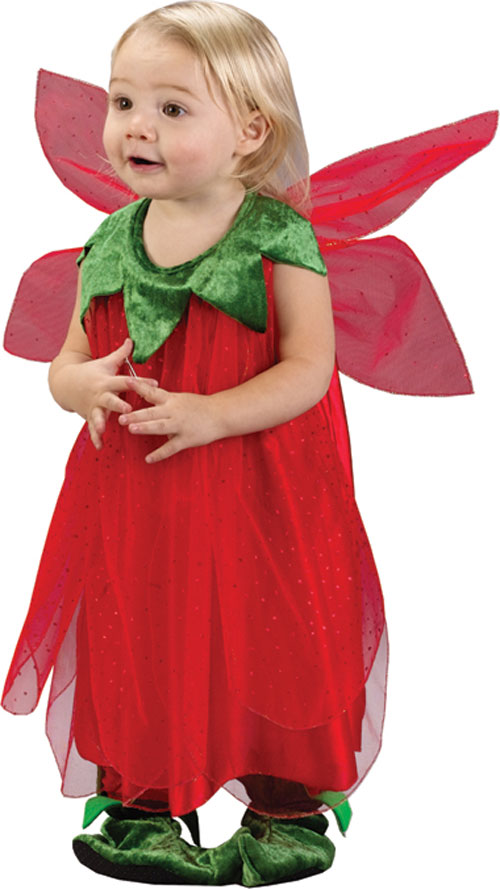 Infant Costumes - Costumes For All Occasions FW9656 Red Strawberry Fairy Infant