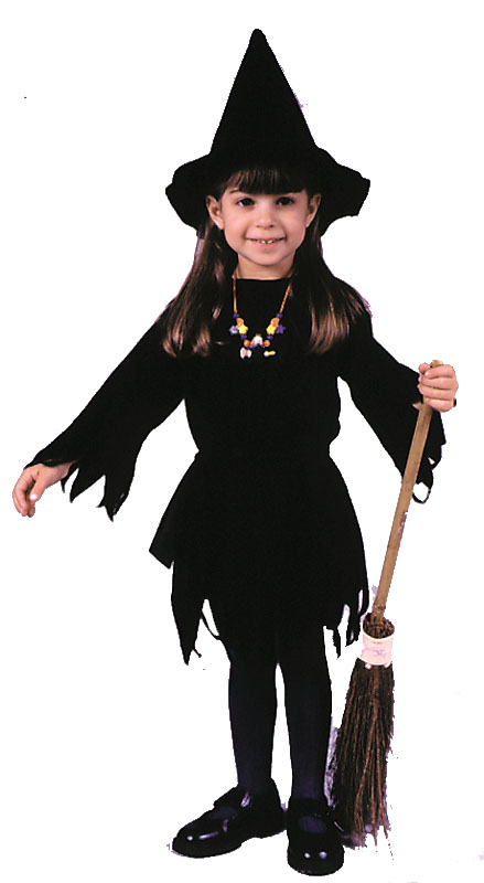 Witch Costumes - Costumes For All Occasions FW9754 Lil Miss Witch Toddler
