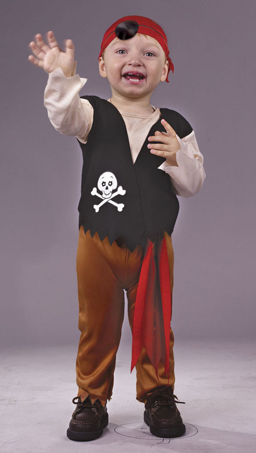 Pirate Costume - Costumes For All Occasions FW9766 Pirate Toddler Large