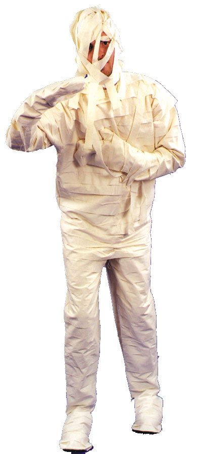 Mummy Costume - Costumes For All Occasions AC171 Mummy Costume 1 Size