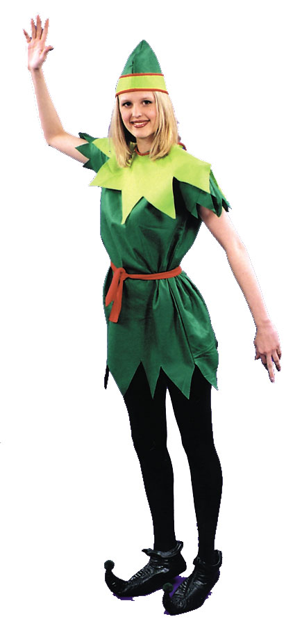 Peter Pan Costume - Costumes For All Occasions AC190 Peter Pan Lady 1 Size