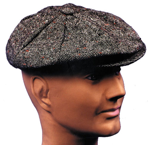 Newsboy Hat - Costumes For All Occasions GA39 Newsboy Hat P I