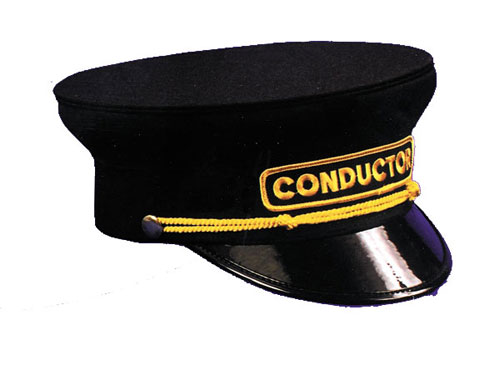 Costumes For All Occasions GA41LG Conductor Hat 7 .425 7.5