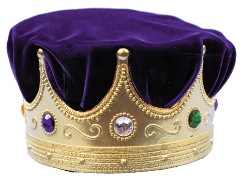 Costumes For All Occasions GB03BU Crown Jewel With Blue Turban