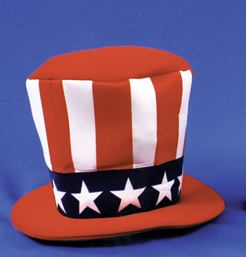 Foam Hats - Costumes For All Occasions GC121 Uncle Sam Hat Foam