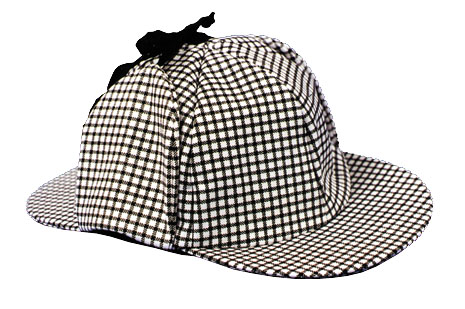 Costumes For All Occasions GC143 Sherlock Holmes Hat Economy