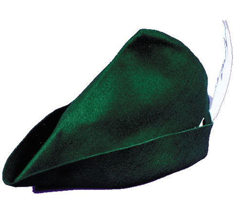 Peter Pan Costume - Costumes For All Occasions GC148 Hat Peter Pan Elf Felt
