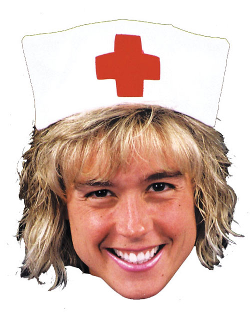 Nurse Hat - Costumes For All Occasions GC149 Nurse Hat